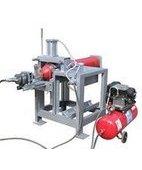 ТЦ-22 стенд для вывинчивания и завинчивания ЗПУ баллонов высокого давления, 380 В, давление воздуха 0,6-1,0 МПА