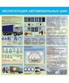 Стенд «Эксплуатация автомобильных шин (Пластик 1000 x 1000)»