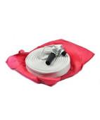 Рукав 19 мм для внутриквартирного пожаротушения в сумке (рукав 15 м, ствол, штутцер)