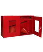 Щит пожарный закрытый металлич. с окнами 1200*700*300 (без комплекта)