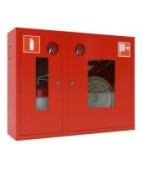 Шкаф пожарный ШПК-315НО (навесной,открытый),красный/белый,тип:Пр/Лев