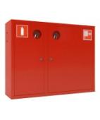 Шкаф пожарный ШПК-315НЗ (навесной,закрытый),красный/белый,универсальный