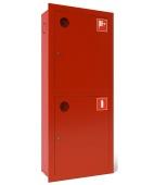Шкаф пожарный ШПК-320ВЗ (встроенный,закрытый) белый/красный, универсальный