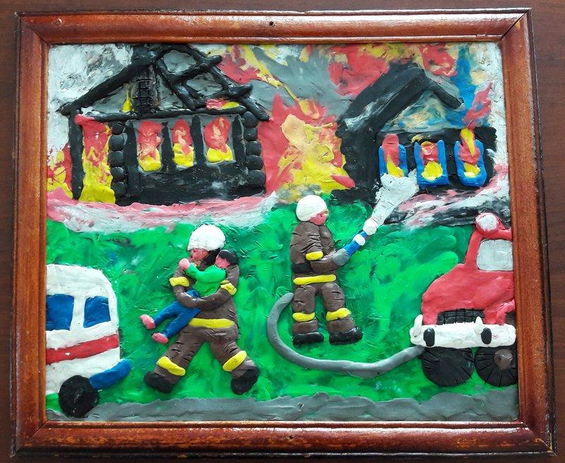 именно предсезонные поделки на пожарную тему в картинках настоящий